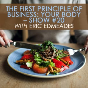 PR 020   First Principle of Business