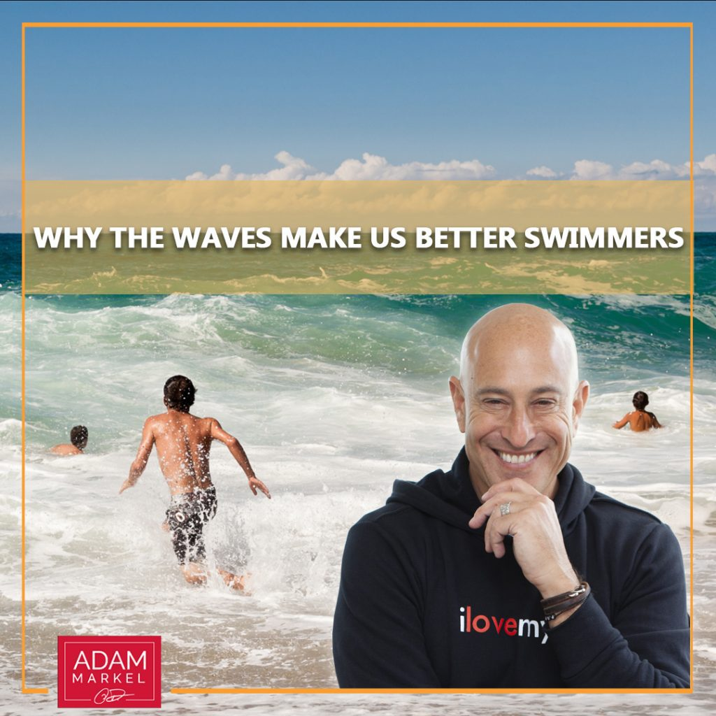 Why the Waves Make Us Better Swimmers
